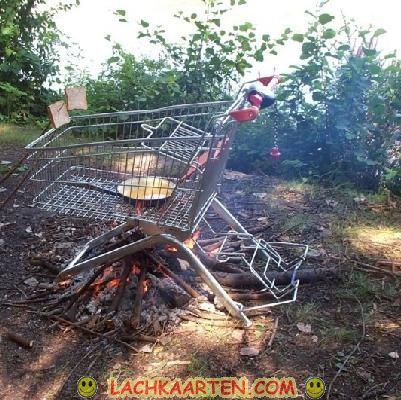 Originele barbecue