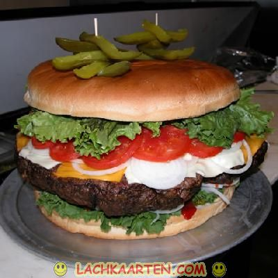 Large Big Mac Burger